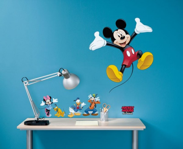 "Wandsticker ""Mickey and Friends"""