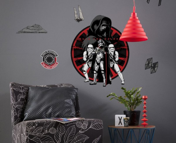 "Wandsticker ""Star Wars Frist Order"""