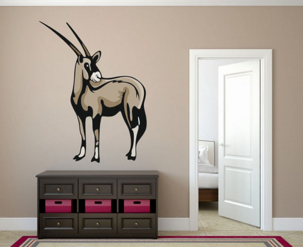 Wandsticker Gazelle