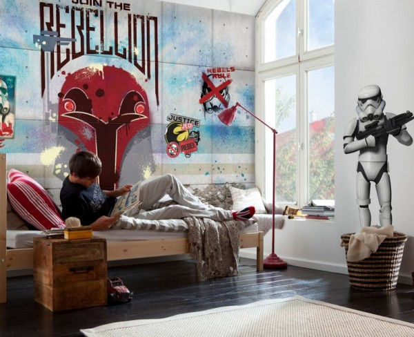 "Fototapete ""Star Wars Rebels Wall"""