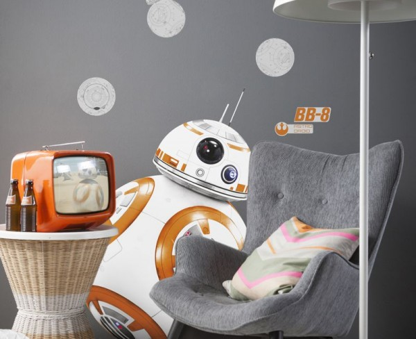 "Wandsticker ""Star Wars BB-8"""