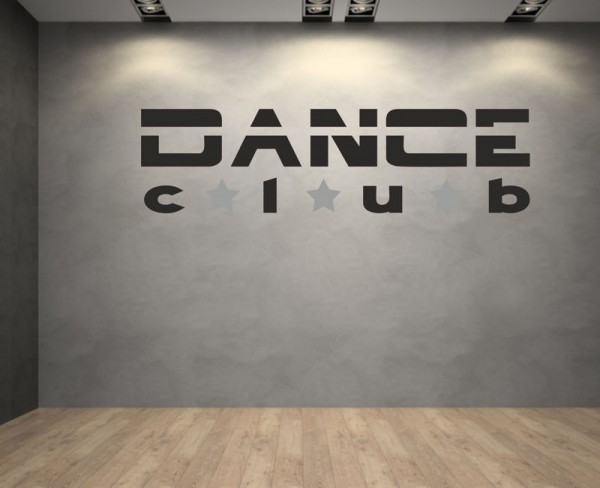 Wandsticker Dance Club