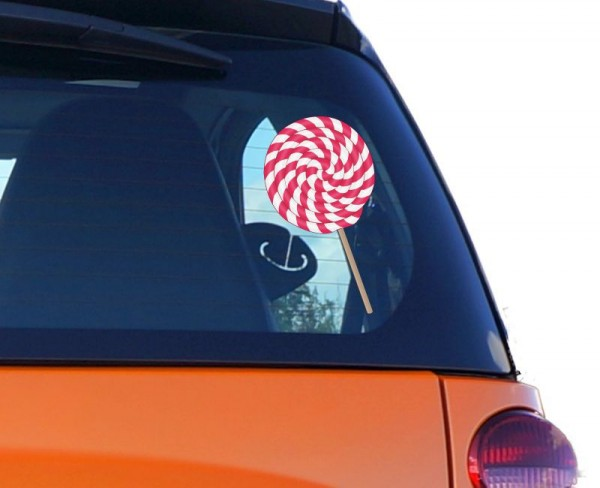 Autoaufkleber Lolly