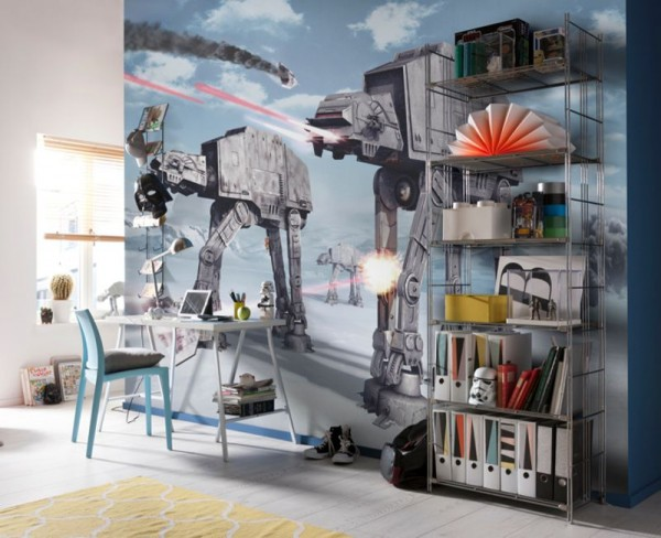 "Fototapete ""Star Wars Battle of Hoth"""